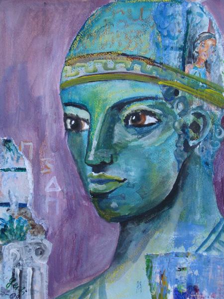 Gesichter: Wagenlenker von Delphi