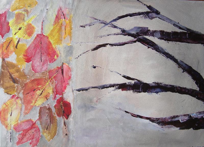 Blätter - Äste - Herbstimpressionen: Oktoberlicht