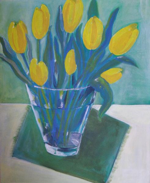 gelbe-tulpen