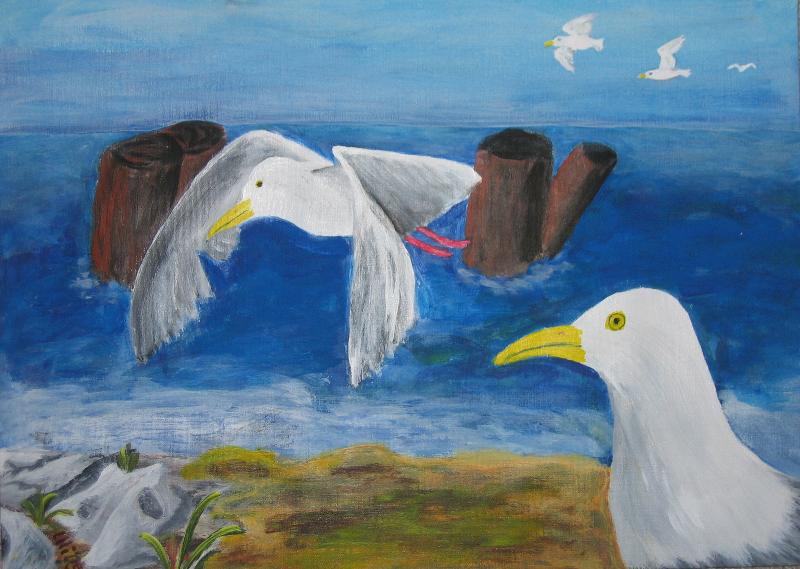 Tiere: Sommer am Meer